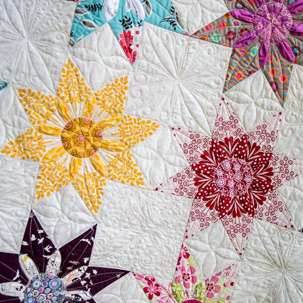 Star Dahlia Vintage Quilt Pattern